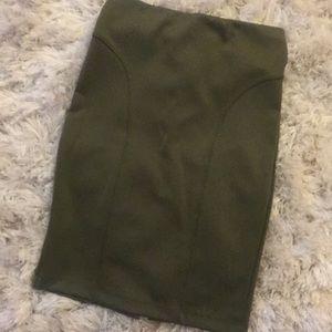 Dresses & Skirts - Olive skirt